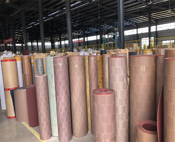 Cloth Backing Types Used for Coated Abrasives_coated abrasive products_coated abrasive cloth backing_sanding belt manufacturer_abrasive cloth supplier