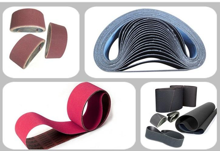 Sanders abrasives different material abrasive belt